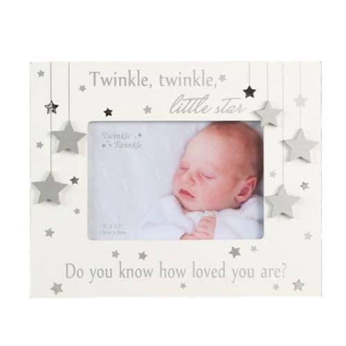 Twinkle Twinkle Wooden Photo Frame