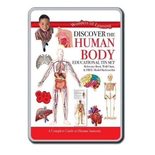 Wonders of Learning - Human Body Tin Set
