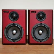 Aurender S5W Wireless Speakers - Wine Red