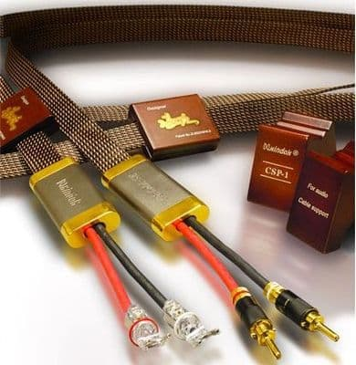 Xindak FS-Gold SE Reference  Gold/Silver Loudspeaker Cables - Pair-  2.5m