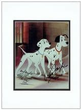 101 Dalmatians Autograph Signed Photo