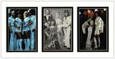ABBA Autograph Signed Display