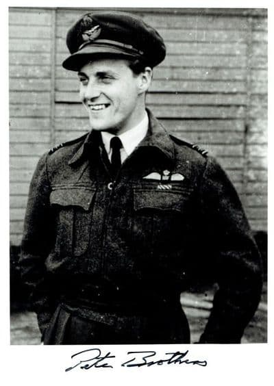 Air Commodore Peter Brothers Autograph Signed Photo