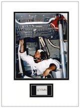 Al Worden Autograph Signed Display - Apollo 15