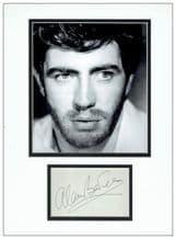 Alan Bates Autograph Signed Display