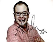 Alan Carr Autograph Signed Photo