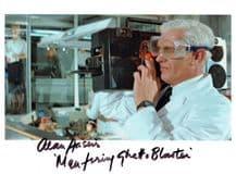 Alan Harris Autograph Signed Photo - Licence To Kill