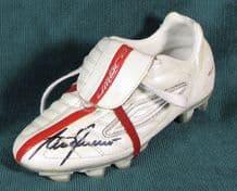 Alan Shearer Autograph Signed Football Boot