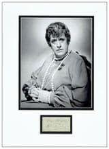 Alastair Sim Autograph Signed -Display - St Trinian's