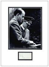 Albert Speer Autograph Signed Display