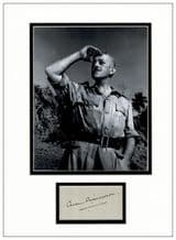 Alec Guinness Autograph Signed Display - The Bridge On The River Kwai
