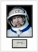 Alexei Leonov Autograph Signed Display