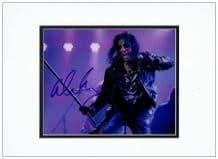 Alice Cooper Autograph Signed Photo