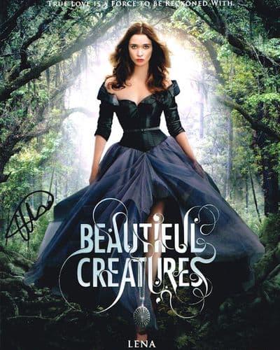 Alice Englert Autograph Signed Photo - Beautiful Creatures