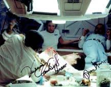 Alien Autograph Signed Photo - Hurt & Cartwright
