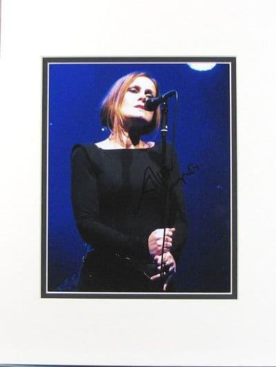 Alison Moyet Autograph Photo