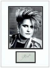 Alison Moyet Autograph Signed Display