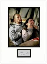 Andreas Wisniewski Autograph Signed Display - The Living Daylights