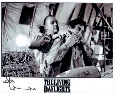 Andreas Wisniewski Autograph Signed Photo - The Living Daylights