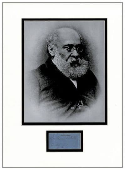 Anthony Trollope Authentic Autograph Signed For Sale