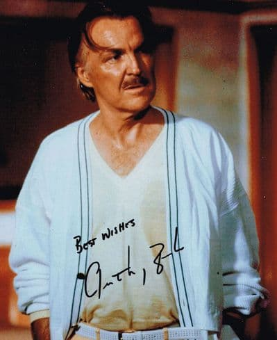 Anthony Zerbe Autograph Signed Photo - Licence To Kill