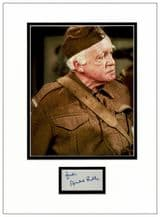 Arnold Ridley Autograph Signed Display - Dad's Army