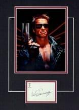 Arnold Schwarzenegger Autograph - Terminator