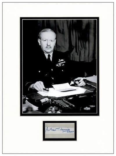 Arthur T Harris Autograph Signed - Bomber Harris