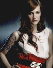 Ashlee Simpson Autograph Photo Signed