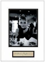 Audrey Hepburn Breakfast At Tiffany's Autograph Display