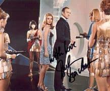 Barbara Bouchet Autograph Signed Photo - Casino Royale