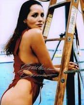 Barbara Carrera Autograph Signed Photo - James Bond
