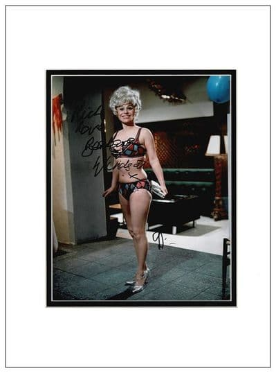 Barbara Windsor Autograph Signed - Carry On