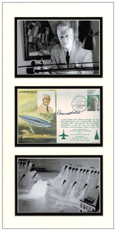 Barnes Wallis Autograph Signed Display - The Dambusters