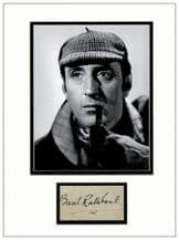 Basil Rathbone Autograph Signed - Sherlock Holmes