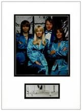 Benny Andersson Signed Photo Display - ABBA