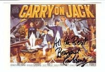Bernard Cribbins Autograph Signed Photo - Carry On Jack