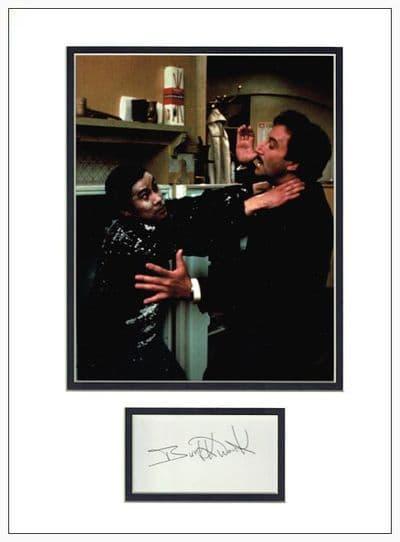 Bert Kwouk Autograph Signed Display - Pink Panther