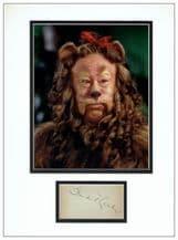 Bert Lahr Autograph - Wizard of Oz