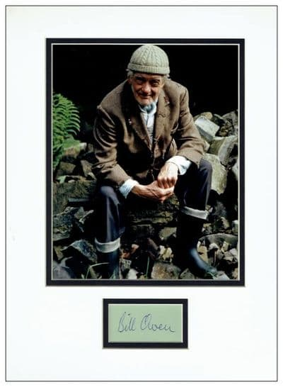 Bill Owen Autograph Signed - Last Of The Summer Wine