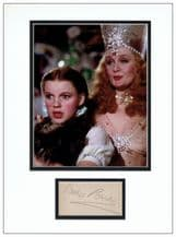 Billie Burke Autograph Signed Display - Wizard Of Oz