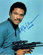 Billy Dee Williams Autograph Photo - Lando Calrissian