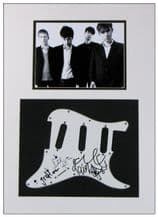 Blur Autograph Signed Display