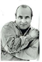 Bob Hoskins Autograph Signed Photo