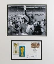Bobby Moore Autograph Signed First Day Cover