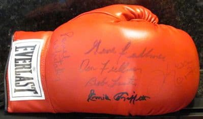 Boxing Greats Signed Boxing Glove - Norton, Fullmer