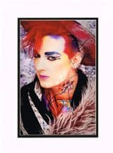 Boy George Autograph Signed Photo