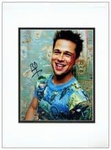 Brad Pitt Autograph Signed Photo - Fight Club