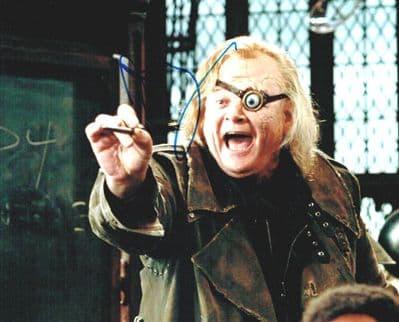 Brendan Gleeson Autograph Signed Photo - Harry Potter