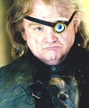 Brendan Gleeson Autograph Signed Photo - Mad-Eye Moody